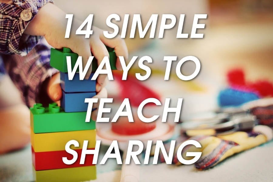 14 EASY Ways to Teach Your 3-Year-old How to Love Sharing